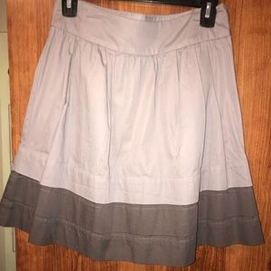 Old Navy cotton pleated skirt